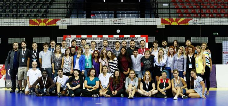 EVS Large: Let's Play Handball – Sport Reporting Volunteering