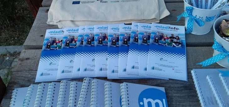 Mladiinfo at the event of Red Cross of Republic of Macedonia – Gazi Baba