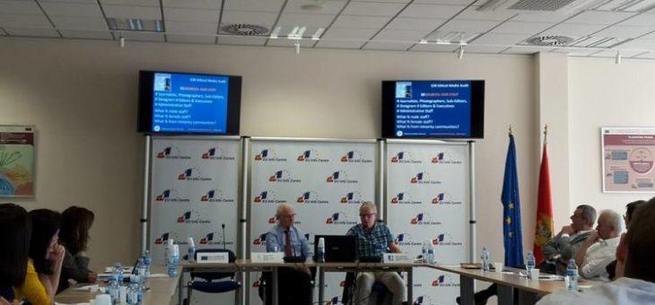 Program for Good Media Management presented in Podgorica