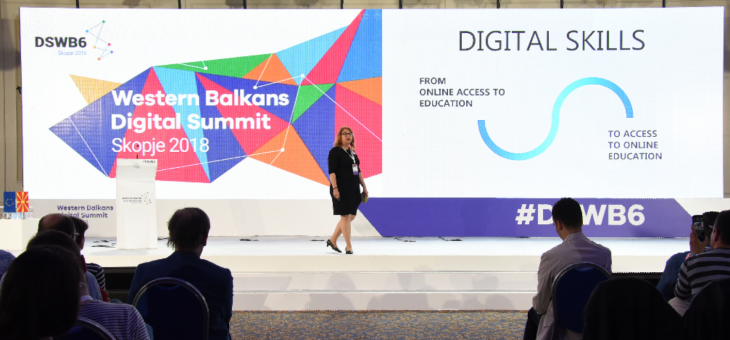 Mladiinfo story shared on the first Western Balkans Digital Summit in Skopje