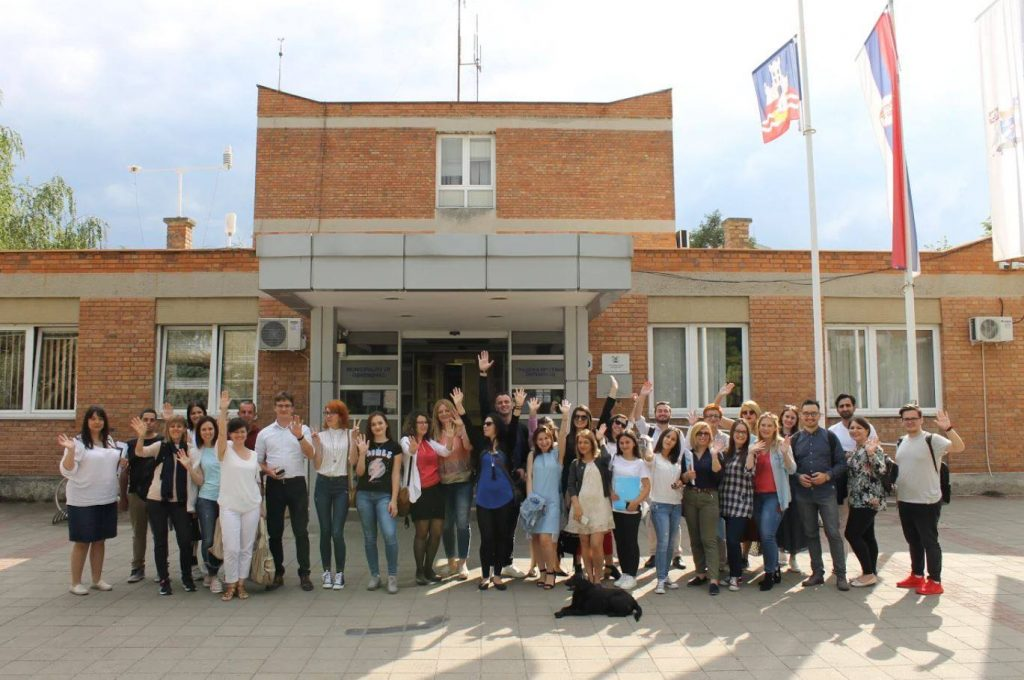 Youth Bank Hub for Western Balkan and Turkey - Study Visit Belgrade