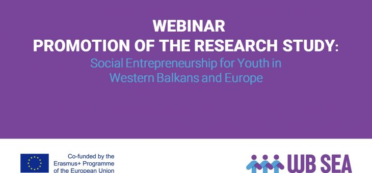 Presentation the Research Study Social Entrepreneurship for Youth in Western Balkans and Europe