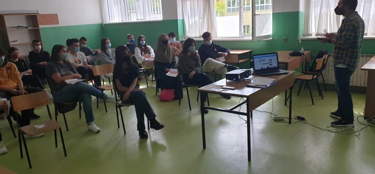 """The second multiplier event within All Opportunities project and promotion of the new platform """"Moznosti za mladi"""" in North Macedonia"""